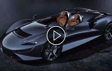 R23m, 600kW McLaren Elva is totally exposed to the elements